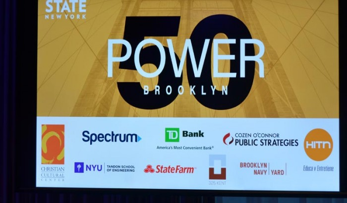 Brooklyn Power 50 by City and State New York-2018