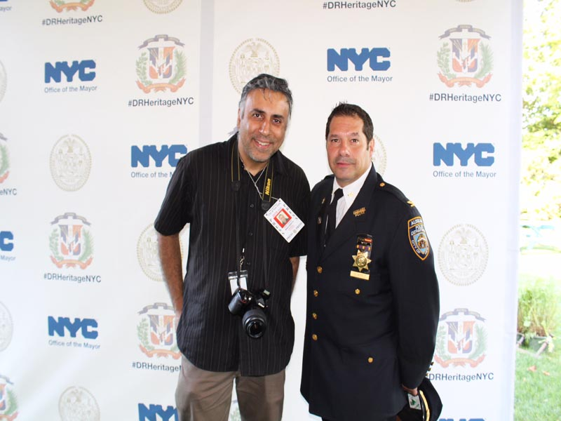Dominican Auxiliary Officer in NYC