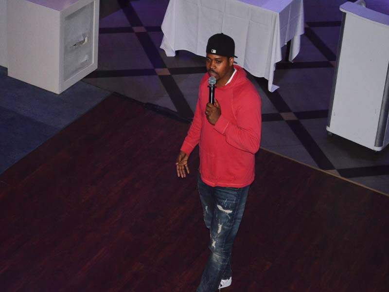Black Comedian from Harlem