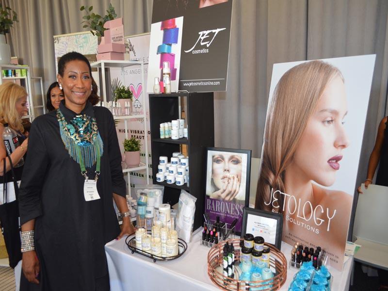 African-American Makeup artist