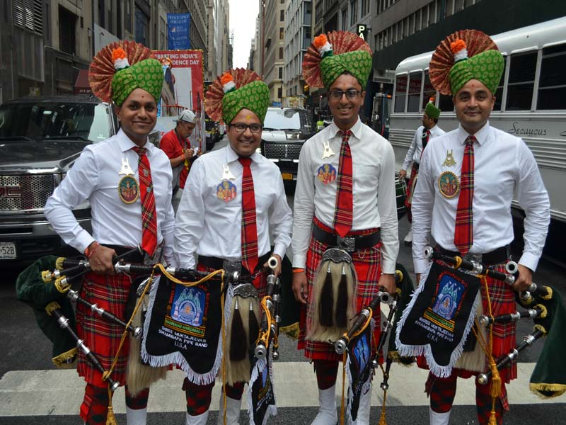 Indian Pipe band