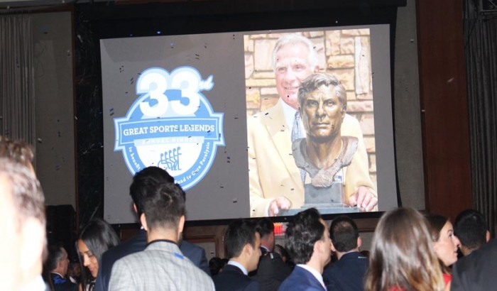 33rd Annual Great Sports Legends Dinner NYC-2018