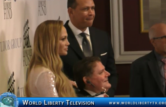 Alex Rodriguez (Arod) honored @ Sports Legends Award with Jennifer Lopez in attendance-2018