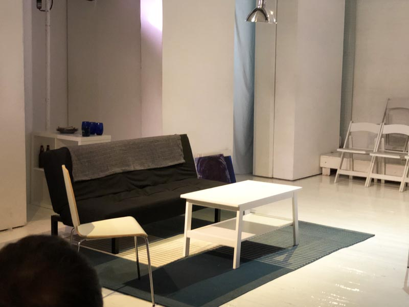 Furniture used in a play