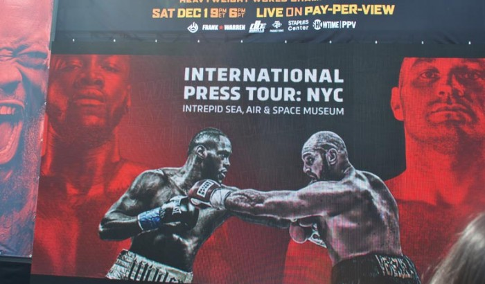 WBC Heavyweight  World Championship DEONTAY WILDER VS. TYSON FURY NY Press Conf -2018