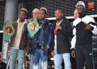 NY Press  Conference For  World Champions Jermall Charlo & Jermell Charlo to Defend Titles at Barclay Center NY -2018