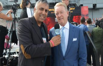 Interview with Frank Warren of  Queensberry Promotions NYC-2018