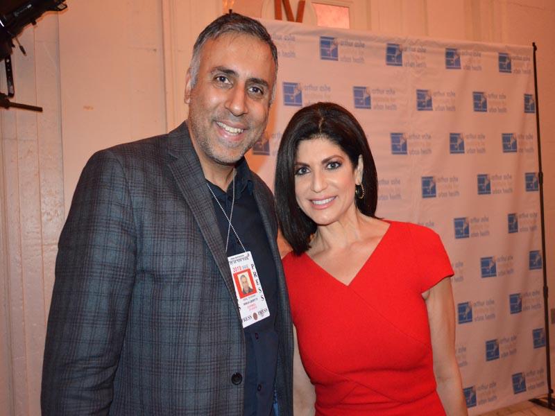 Iranian/American Newscaster