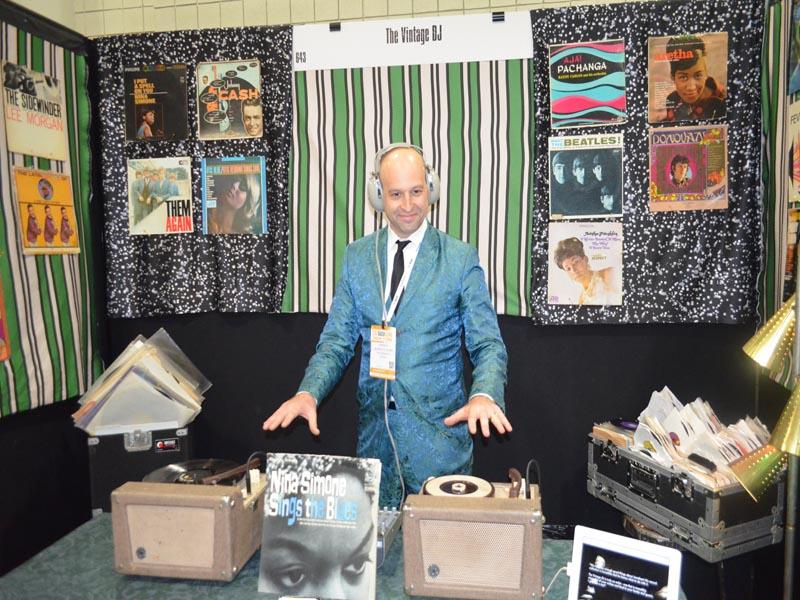 Playing Vinyl Record Music