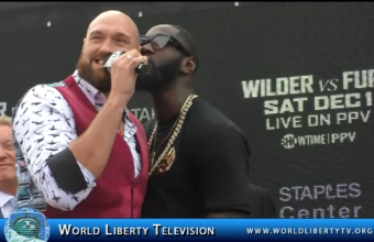 WBC Heavyweight  World Championship DEONTAY WILDER VS. TYSON FURY -2018
