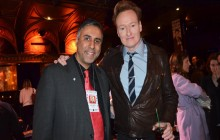 Comedian CONAN  O' Brien's Press Presentation at NYCF  at Team Coco House NYC-2018