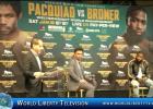 Manny Pacquiao  VS Adrien  Broner  WBA Welterweight  World Title NY Press Conf -2018