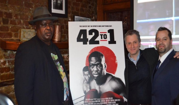 "Next 30 for 30 from ESPN Films will be ""42 to 1"" on Buster Douglas defeating Mike Tyson for the 1990 heavyweight championship"