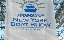 The 2019 Progressive Insurance New York Boat Show