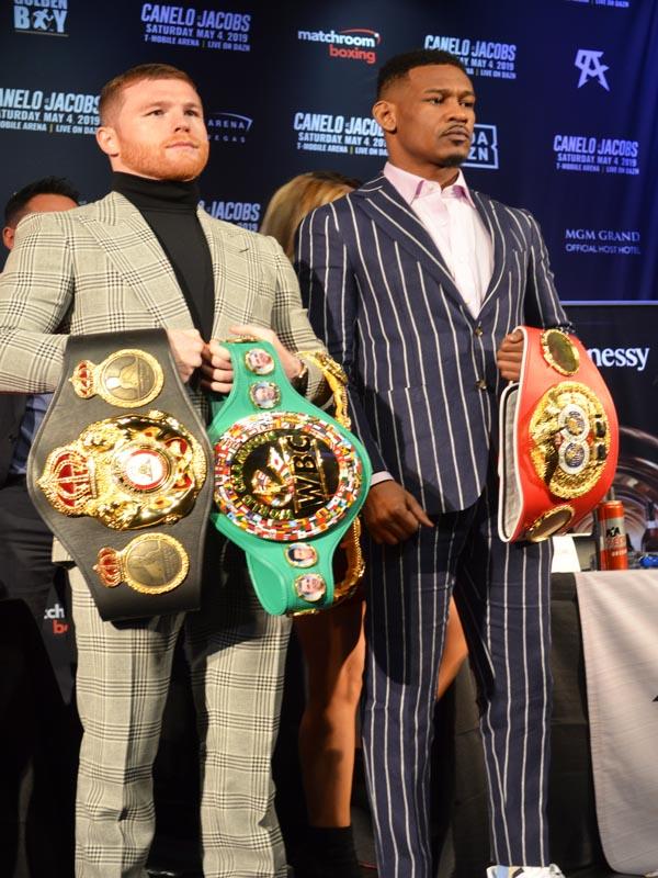 Mexico VS USA in Boxing