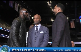 Wilder VS  Breazeale For WBC World Heavyweight  Championship NY Press Conf-2019