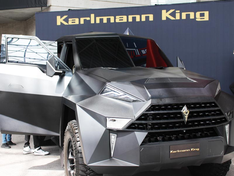2 Million Dollars Karlman King Vehicle