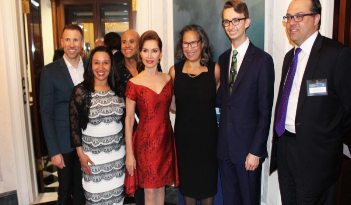Martin & Jean Shafiroff Host Mission Society of NY'S Cocktail Reception -2019