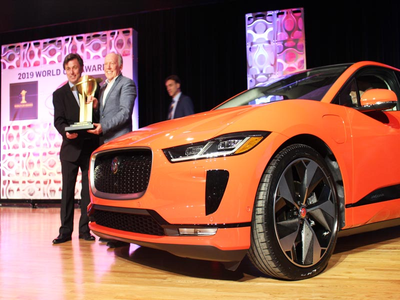 World Car Award for Jaguar I-PACE