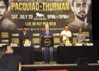 Manny Pacquiao  VS Keith Thurman in WBA WORLD 147 IBS Championship NY Pr Conf-2019