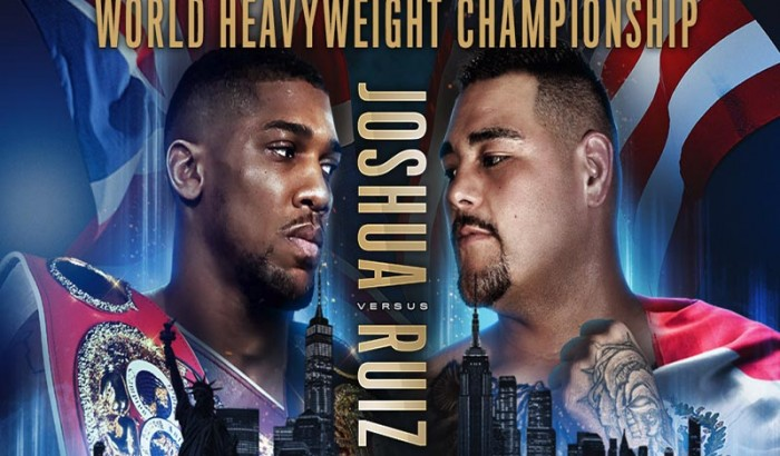 JOSHUA VS RUIZ  Workout and NY Press Conference NYC-2019