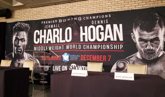 JERMALL CHARLO VS. DENNIS HOGAN  NY PRESS CONFERENCE-2019