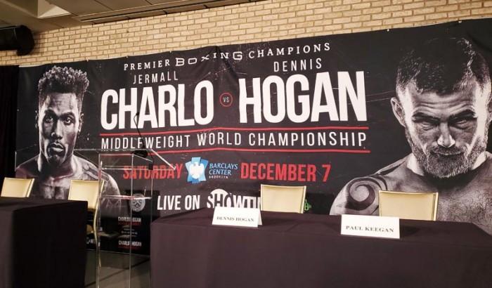 JERMALL CHARLO VS. DENNIS HOGAN  NY PRESS CONFERENCE-2019
