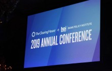 The Clearing House +Bank Policy Institute's 2019 Annual Conference –NYC
