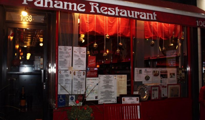 Paname Petite Brasserie French restaurant  NYC Review-2019