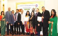 Dr Adal  Honored  & Keynote Speaker  about Global Warming @ WHRD Inc-2019