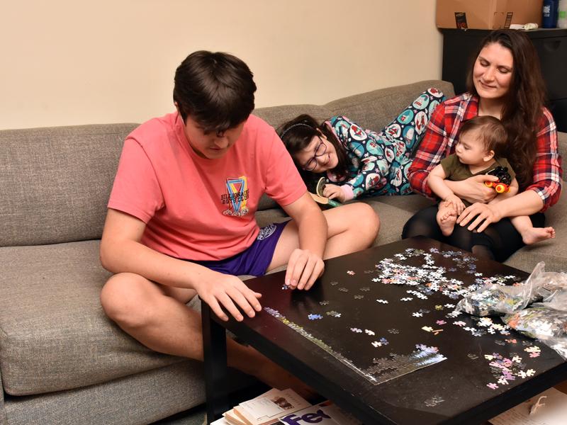 Shapiro Family during Lock down