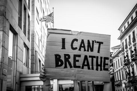 I Cant Breathe Last Words said by George Floyd