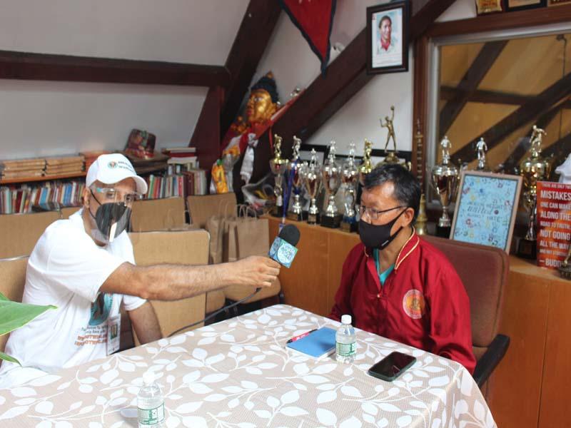 Interviewing Urgen Sherpa President United Sherpa Association USA Inc