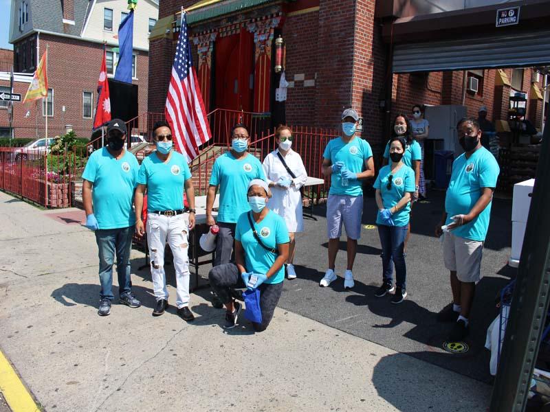 Sherpa Association volunteers