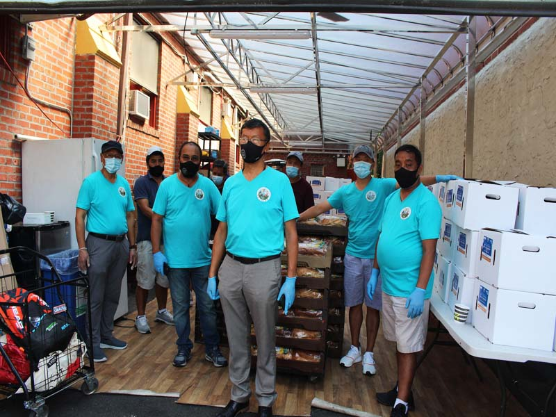 Volunteers of Sherpa Association Doing Great work for Elmhurst Community in Queens NY