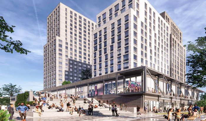 L+M Development  Partners & Type A Projects Host Groundbreaking  Ceremony For Bronx Point & The Universal  Hip Hop Museum-2021