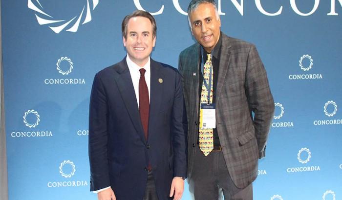 Concordia   Summit in New York City – 2021
